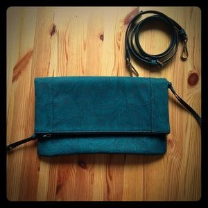 Sole Society clutch with strap(vegan leather)
